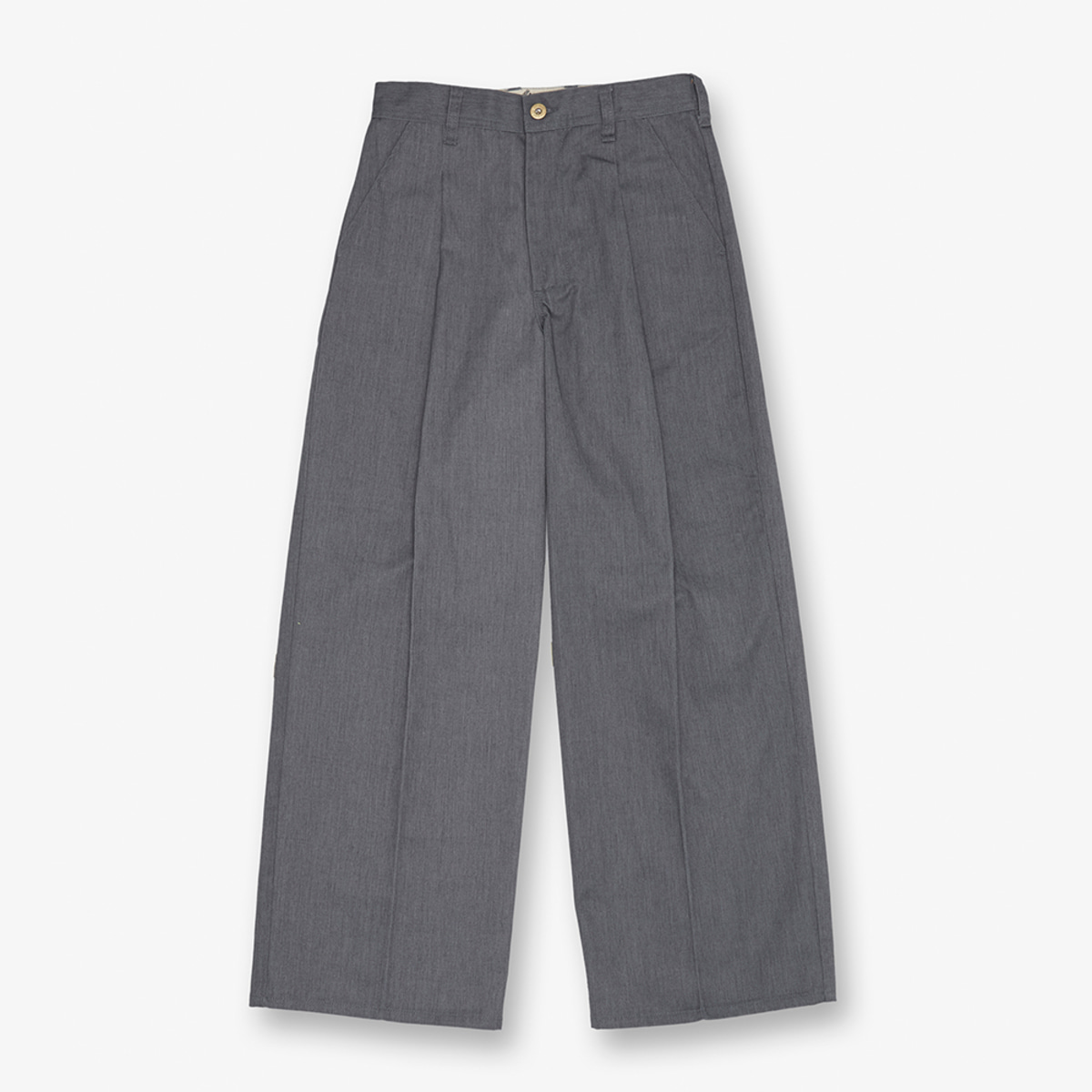 WIDE PANTS GREY