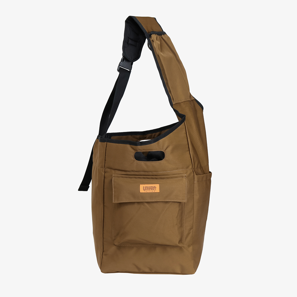 CLIMBING SHOULDER BAG BROWN
