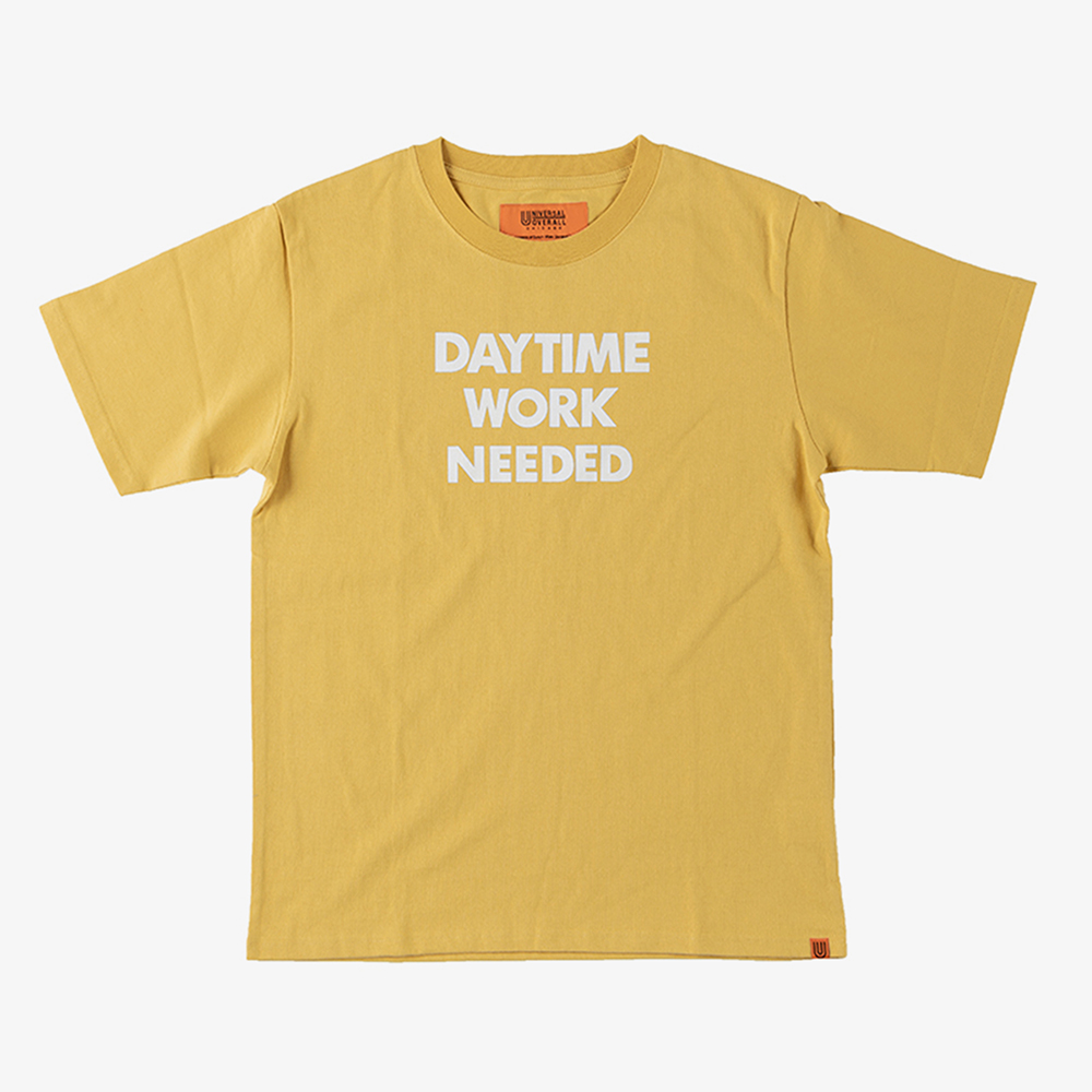 DAYTIME NIGTIME GRAPHIC T-SHIRTS YELLOW