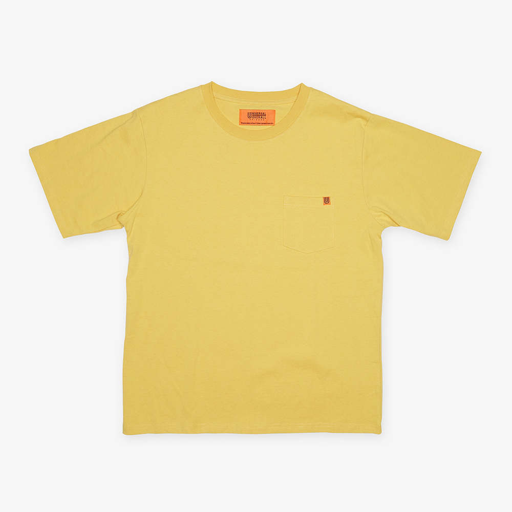 POCKET T-SHIRTS YELLOW