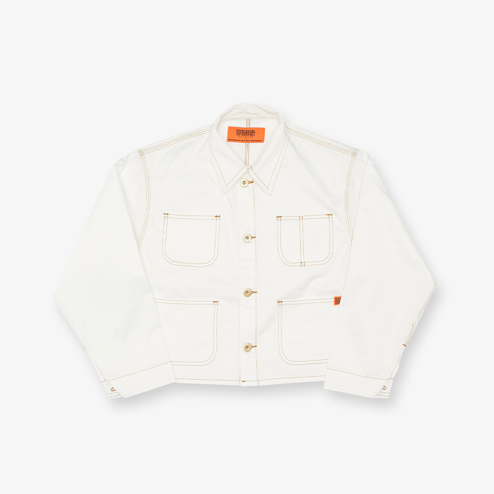 SHORT COVERALL WHITE