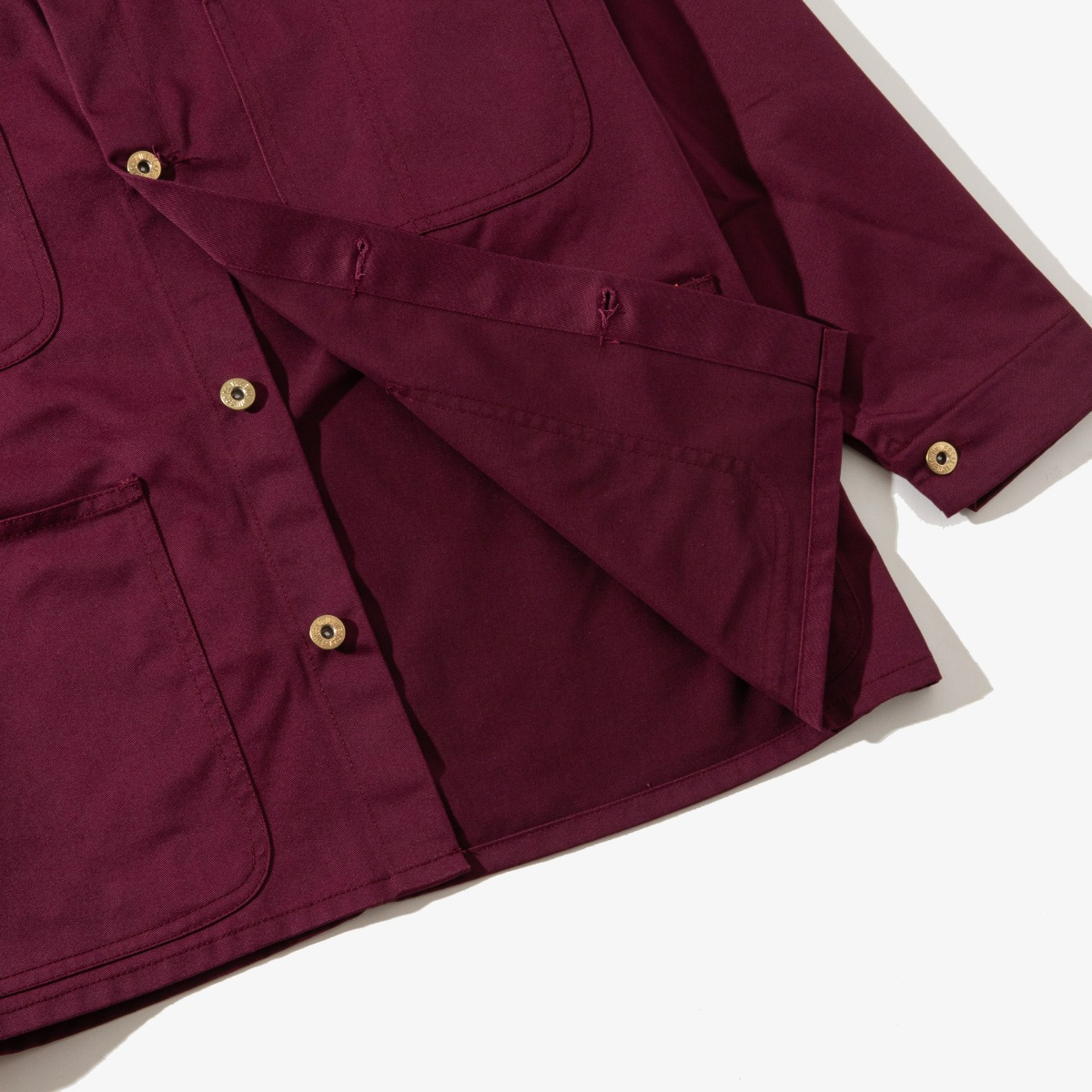 COVERALL BURGUNDY