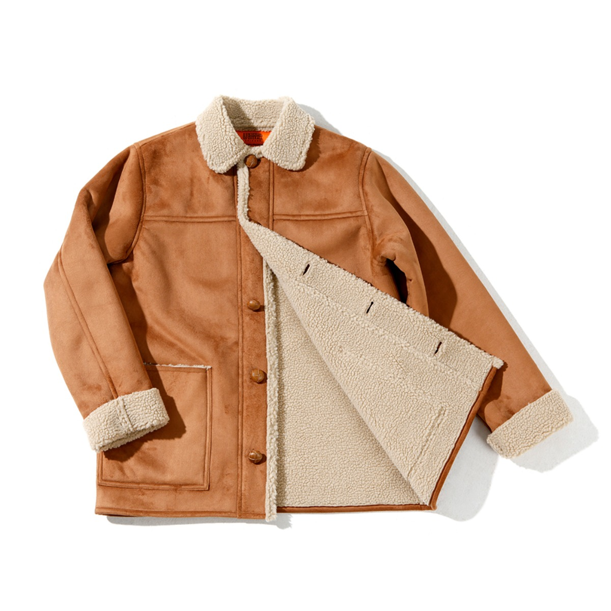 MOUTON RANCH COAT CAMEL