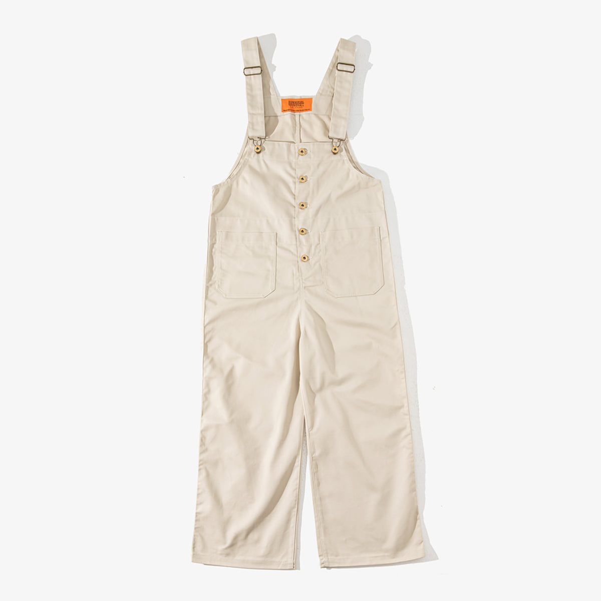 WOMENS BASIC OVERALL IVORY
