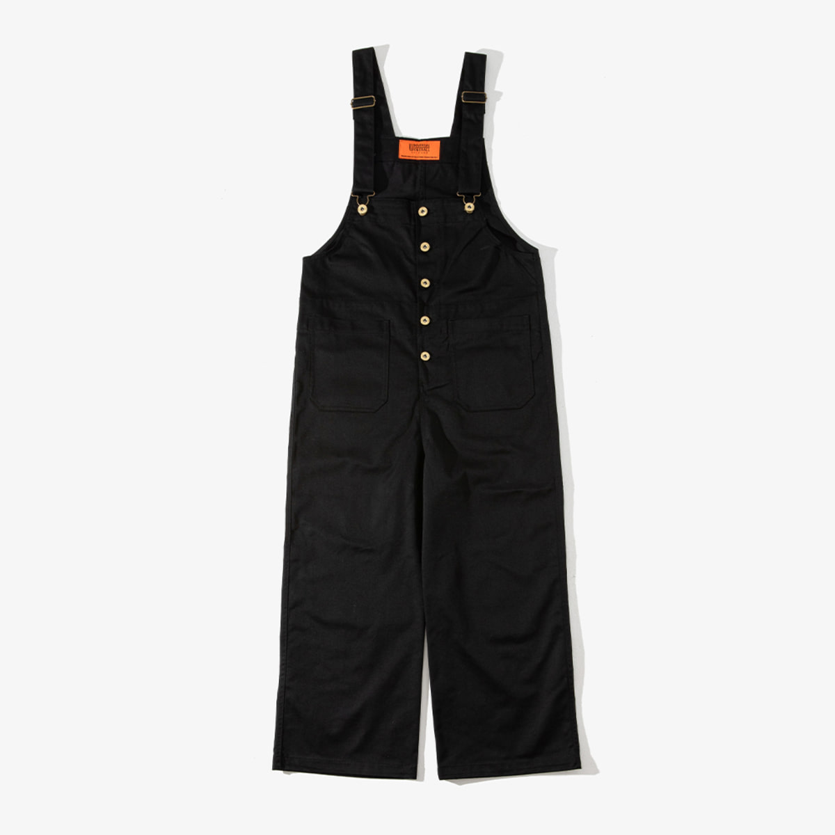 WOMENS BASIC OVERALL BLACK
