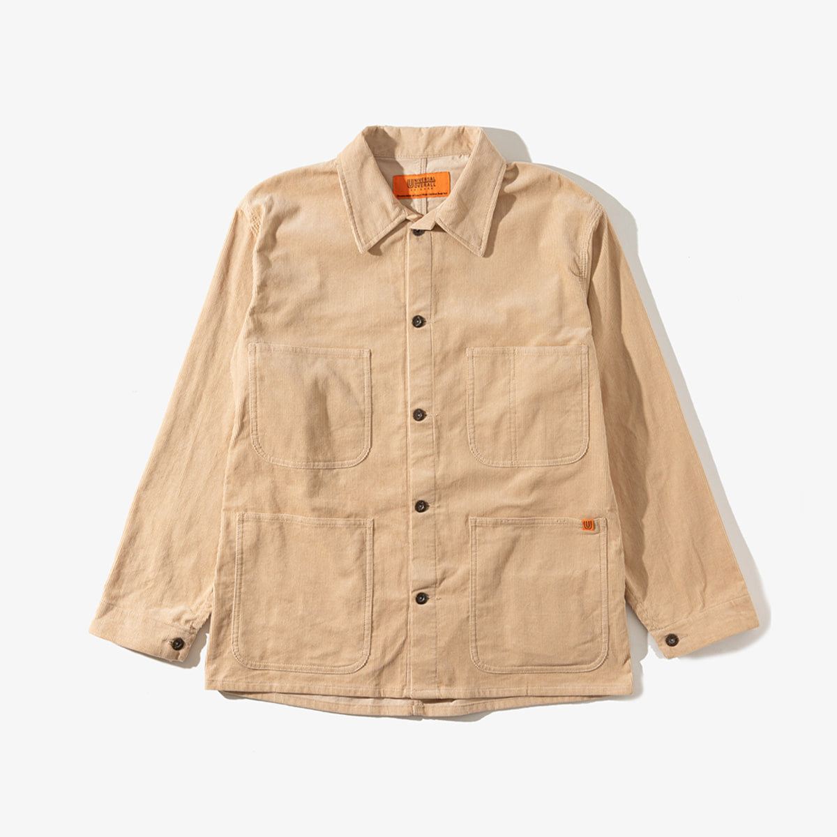 CORDUROY COVERALL BEIGE