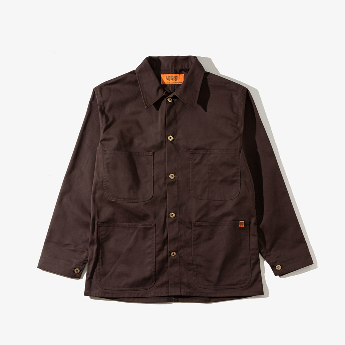 COVERALL DARK BROWN