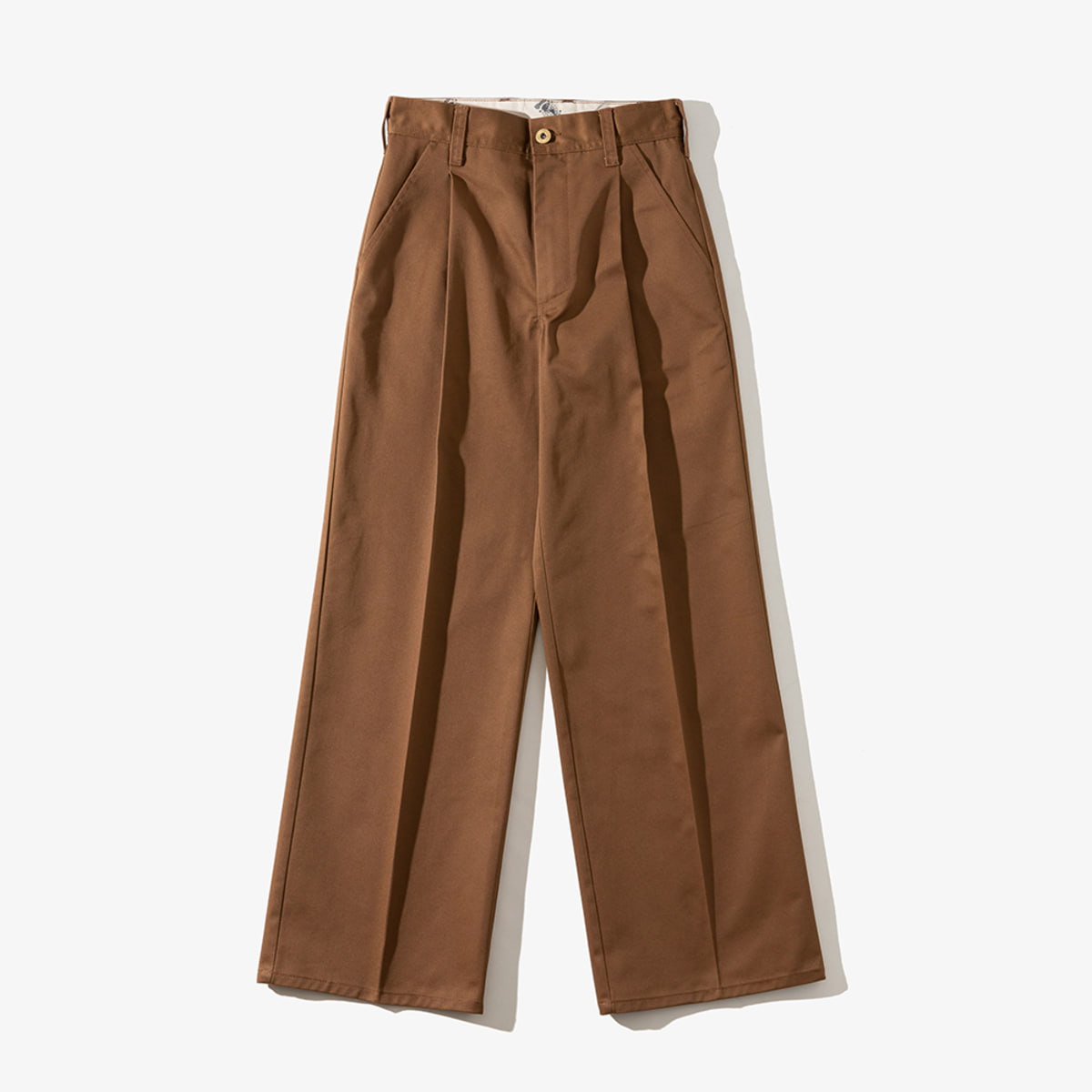 WOMENS WIDE PANTS MOCHA