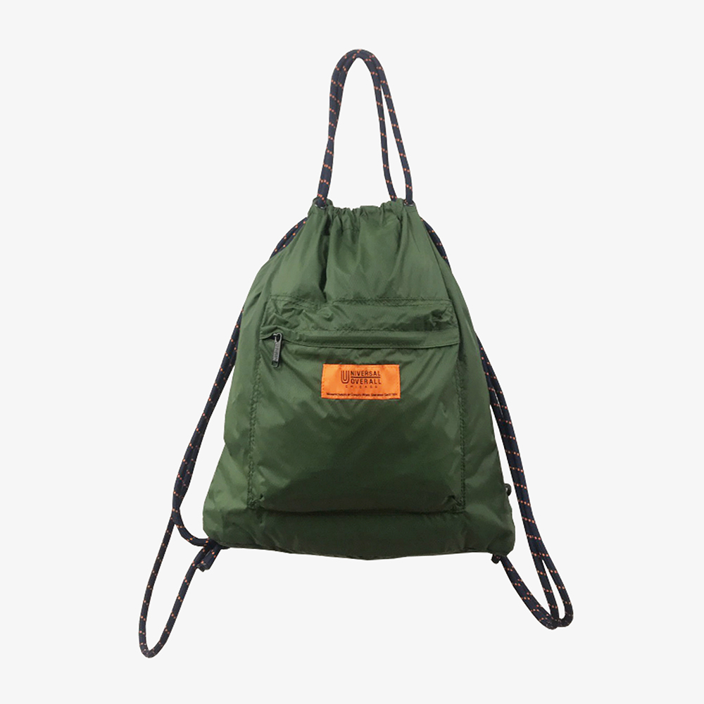 4WAY POCKET NYLON NAP SACK KHAKI