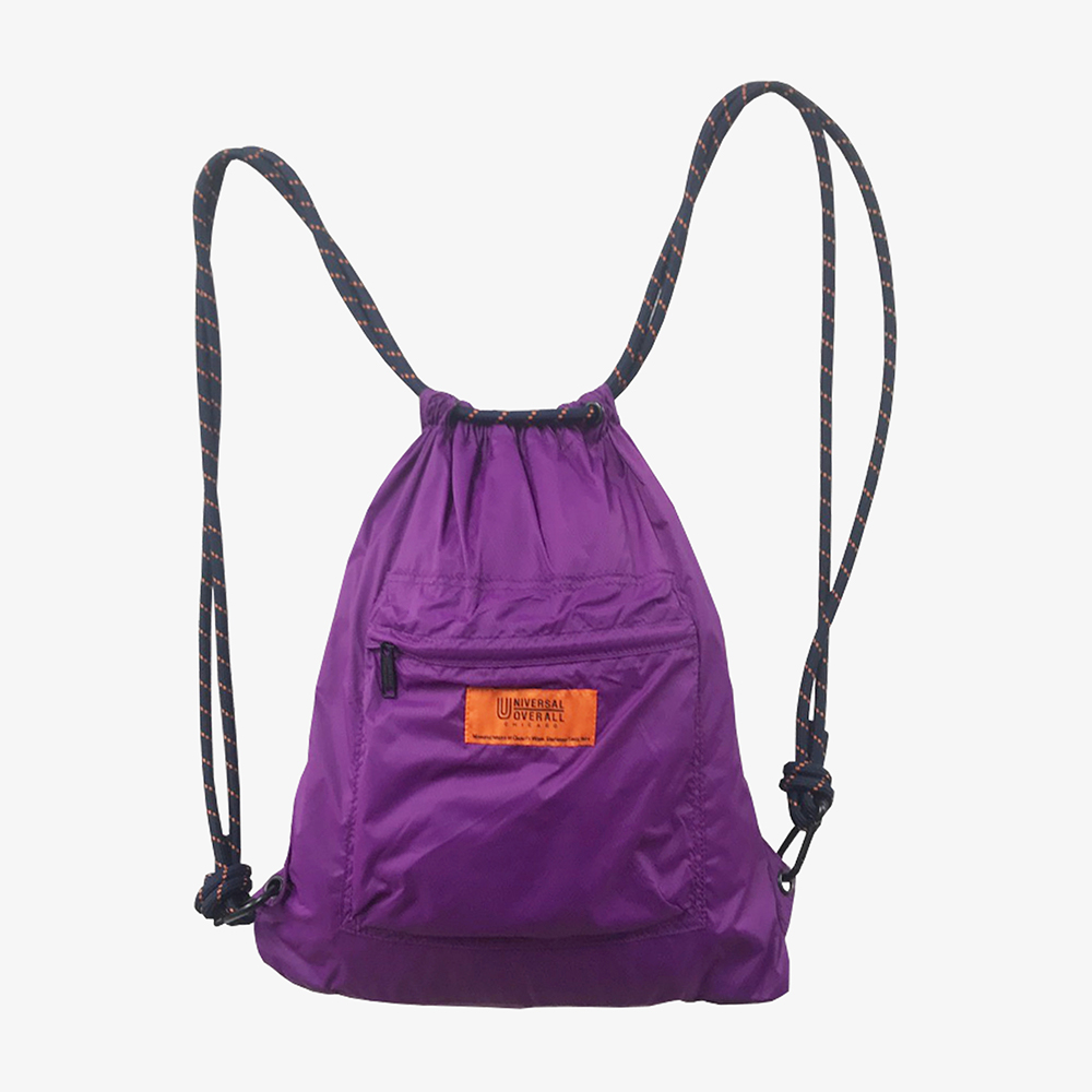 4WAY POCKET NYLON NAP SACK PURPLE