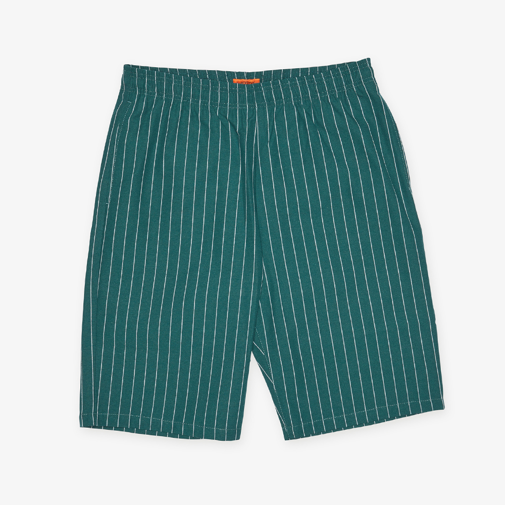 CHEF SHORTS GREEN X WHITE