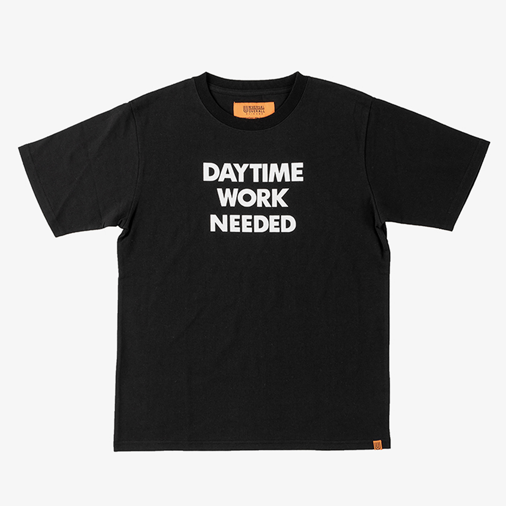 DAYTIME NIGTIME GRAPHIC T-SHIRTS BLACK