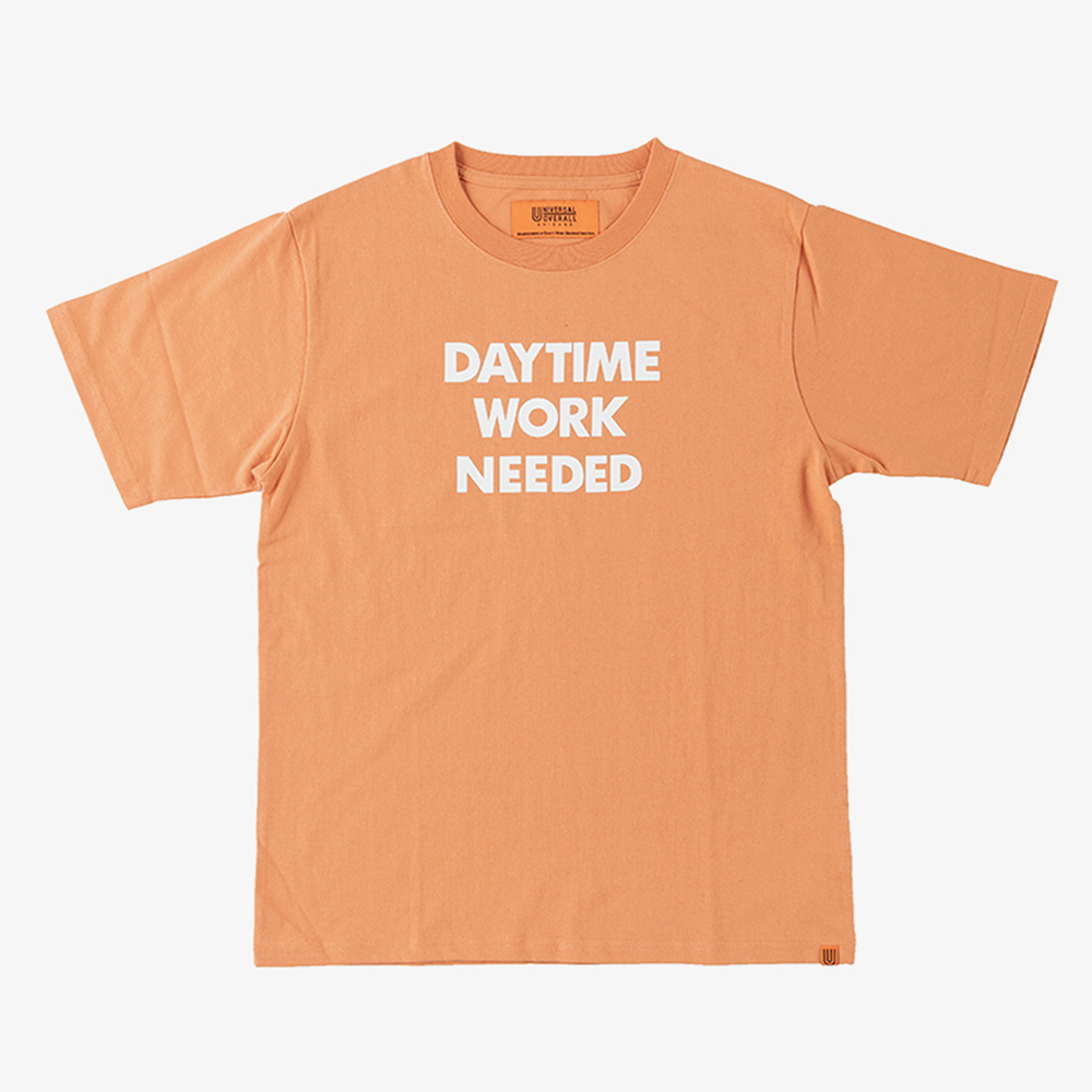 DAYTIME NIGTIME GRAPHIC T-SHIRTS ORANGE