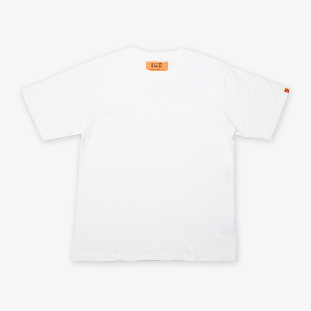 UNIVERSAL PLAIN T-SHIRT WHITE
