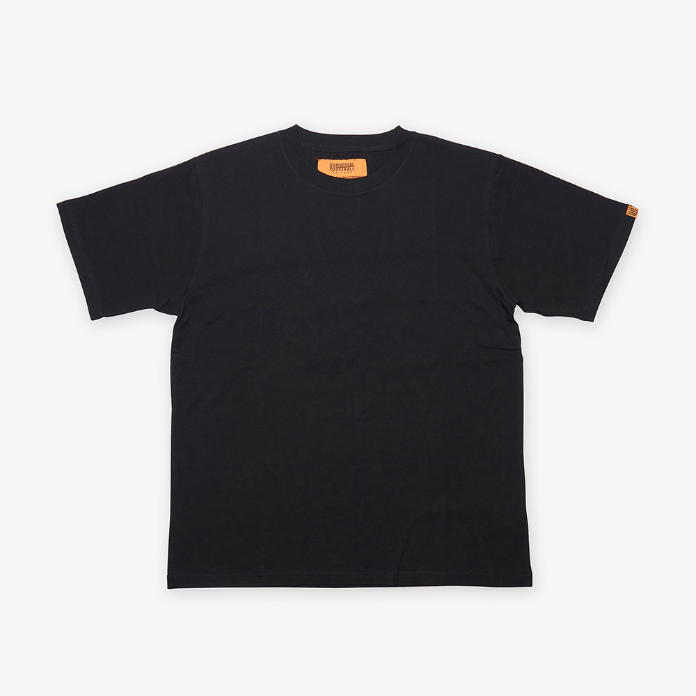 UNIVERSAL PLAIN T-SHIRT BLACK