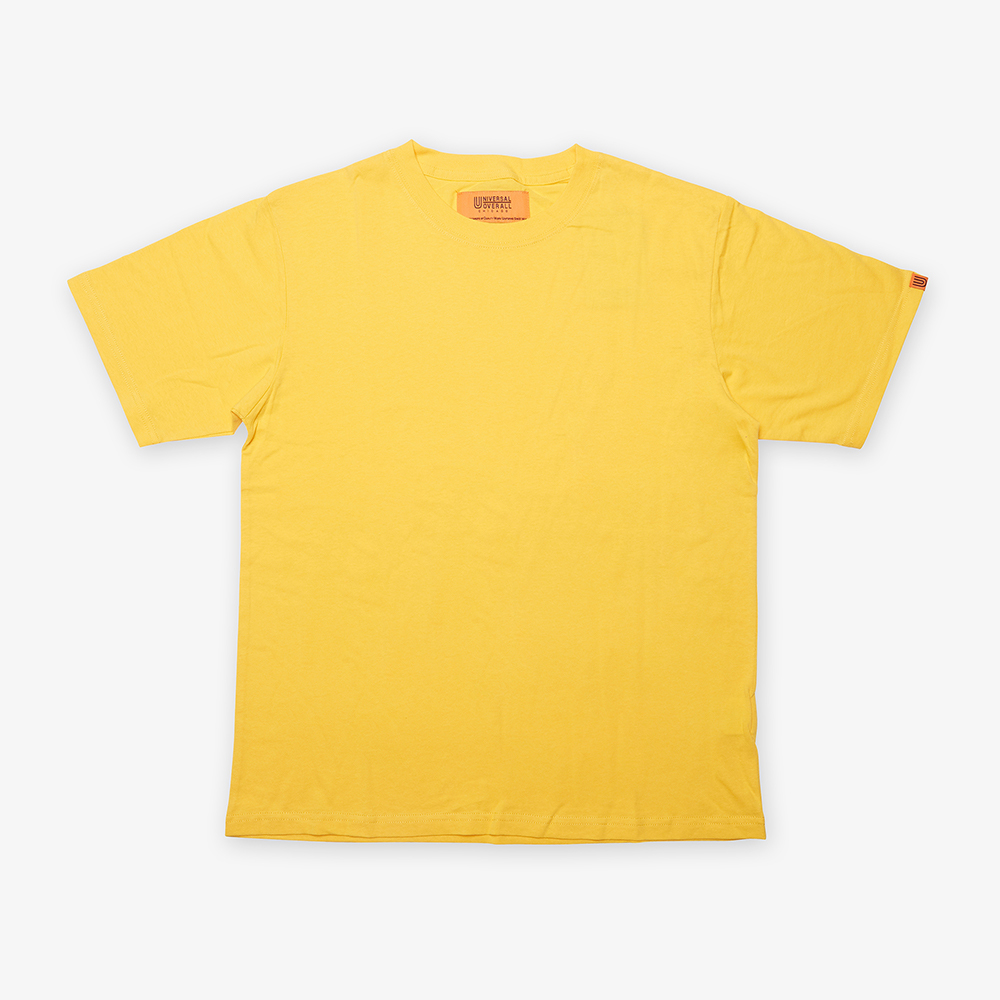 UNIVERSAL PLAIN T-SHIRT YELLOW