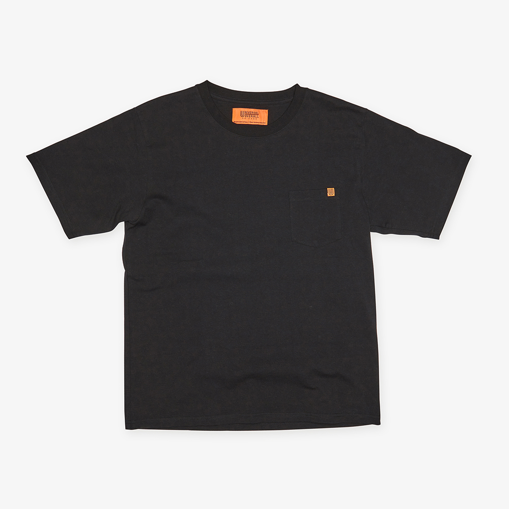 POCKET T-SHIRTS BLACK