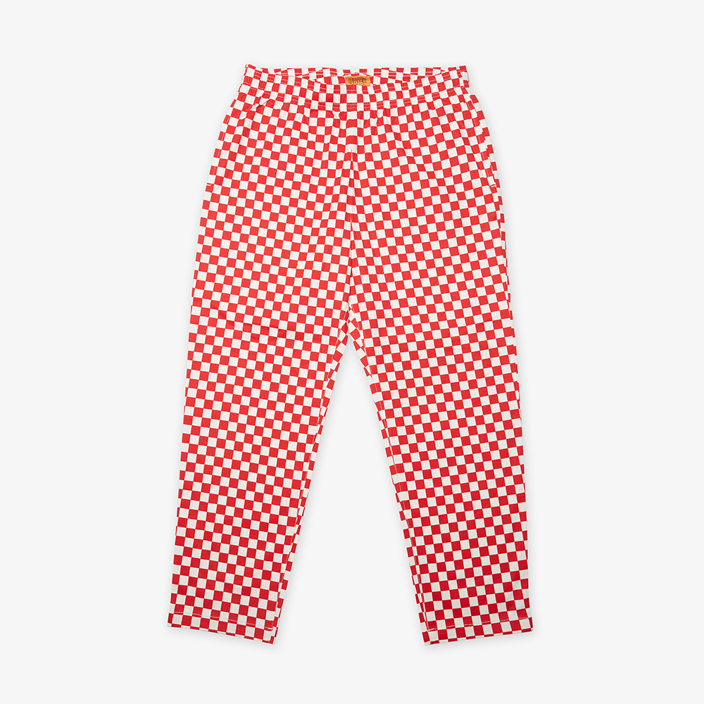 UNIVERSAL OVERALL CHEF PANTS RED