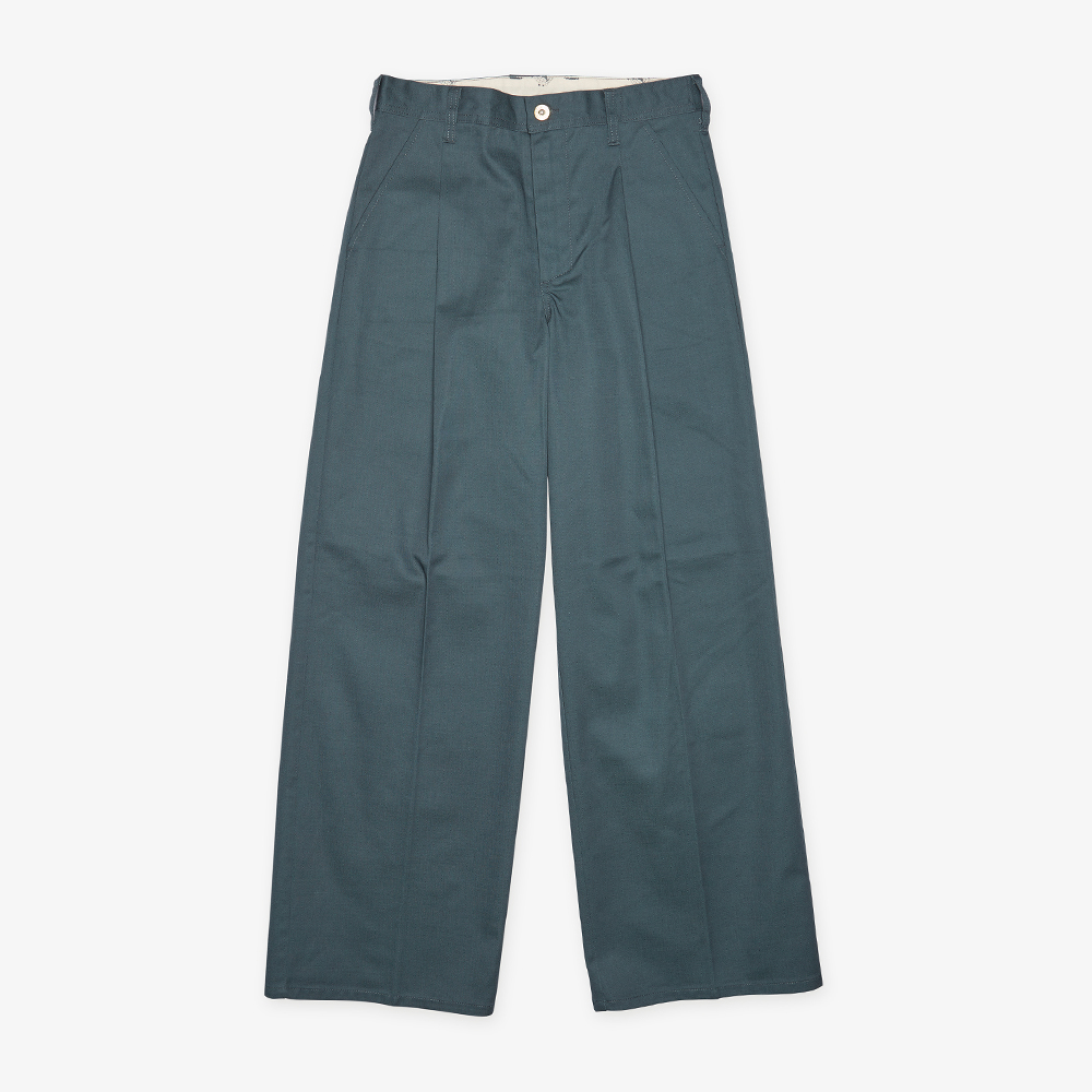 WIDE PANTS GREEN